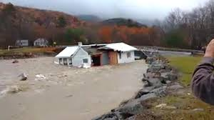 one storey house entire one storey house swept down river by raging floodwaters