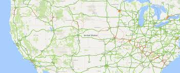 Illinois Interstate Map by Map Shows Eclipse Leaving Traffic Congestion In Its Wake 11alive Com