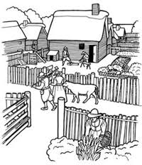 plymouth plantation book coloring pictures plimoth plantation