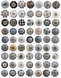 vintage ceramic knobs ornamental door knobs with various for the