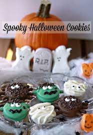 crazy for cookies and more spooky halloween cookies