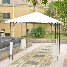 Patio Gazebo 10 X 10 by Outsunny Gazebo 10 U0027 X 10 U0027 Pop Up Folding Patio Canopy Tent Wedding