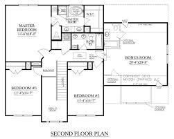 open floor house plans two 2 house plans with second floor master homes zone