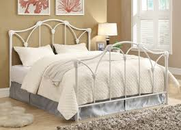 Metal Headboard And Footboard Queen Size Metal Headboard Marcelalcala Gallery With White