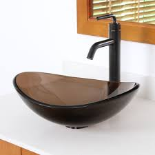 unique vanites with vessel sinks gorgeous home design