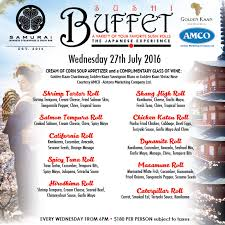 Sample Buffet Menus by Restaurants With Buffets In Trinidad U0026 Tobago Trinichow