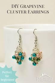 starter earrings best 25 cluster earrings ideas on diy earrings