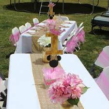 minnie mouse center pieces pink and gold centerpieces adastra