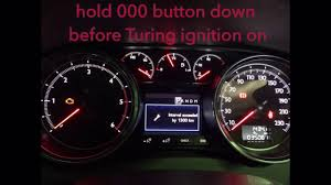 peugot 508 service light reset 2012 youtube