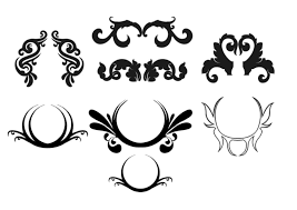 free floral ornaments by on deviantart