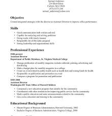Good Resume Experience Examples by Pleasurable Ideas Example Of Skills For Resume 9 Good Resume