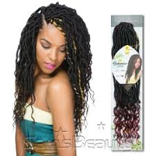 bohemian human braiding hair innocence hair synthetic hair braids ez bohemian locs 18 samsbeauty