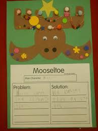 mrs t u0027s first grade class mooseltoe