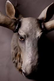 home decoration resin elk head statue animal crafts resin wall art