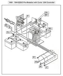 wiring diagram for 1989 to 1994 e z go with curtis 1204 electronic