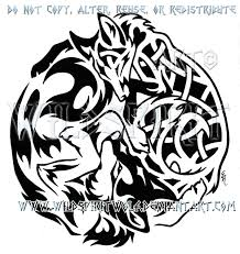 cat and fox yin yang tattoo design in 2017 real photo pictures