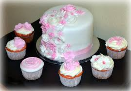 my creative way cascading flower baby shower cake u0026 cupcakes