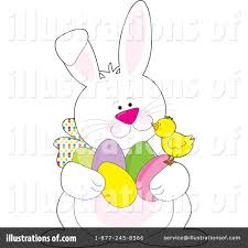 easter clipart 15034 illustration by maria bell