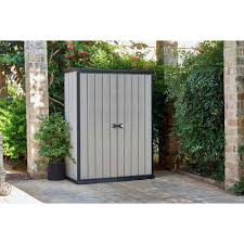 craftsman vertical storage shed keter high store garden storage shed grey from the official