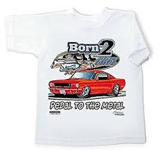 toddler mustang car amazon com mustang shirt born 2 youth white t shirt