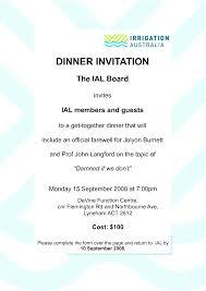 invitation text for dinner endo re enhance dental co