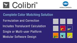 color formulation colibri software konica minolta sensing youtube