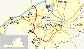 Terminus Cave Map Virginia State Route 419 Wikipedia