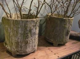 finnegan gallery pair of french faux bois planters