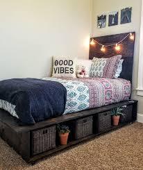 Twin Platform Bed With Storage Best 25 Twin Platform Bed Ideas On Pinterest Diy Twin Bed Frame