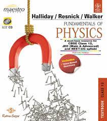 buy fundamentals of physics textbook u0026 practice book class 12