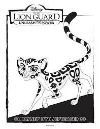 lion guard coloring pages coloring