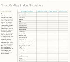 Wedding Budget Wedding Budget Printable Gse Bookbinder Co