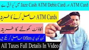 how to jazz account open how to get jazz visa debit