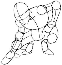 draw spiderman simple steps drawing tutorial