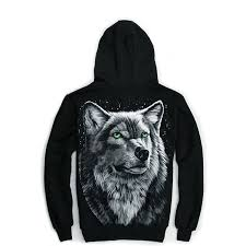 halloween hoodie amazon com partiss mens 3d rock wolf head casual hoodie clothing
