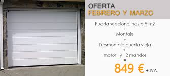 puertas de cocheras automaticas ofertas puertas garaje puertas de garaje madrid automaticas
