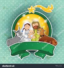 holy family ox rim lights stock vector 118867606 shutterstock