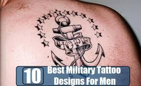 10 best military tattoo designs for men menscosmo com