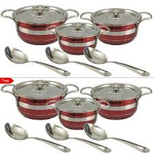 Online Get Cheap Gold Kitchen by Buy 6 Get 6 Stainless Steel Serveware Set By Gold Luck Buy Home