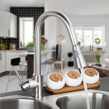 aliexpress com buy water tap kitchen pull out faucet led light