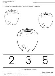 how many apples worksheets a d