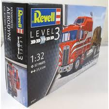 model trucks kenworth revell 1 32 07671 kenworth aerodyne model truck kit revell from