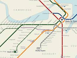 Silver Line Boston Map by 13 Fake Public Transit Systems We Wish Existed Wired