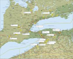 New York Map Us Map Of Toronto And New York New York Map