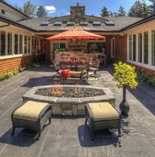 stone flooring backyard patio design ideas slate patio