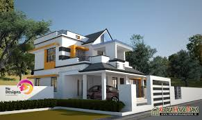 3 bedroom 2 story house design kerala house plans designs floor