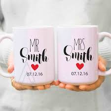 best 10 year anniversary gifts gifts wedding gifts for couples his and hers mugs