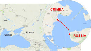 Map Of Ukraine And Crimea The Kerch Strait Bridge Europe U0027s Longest Nears Completion