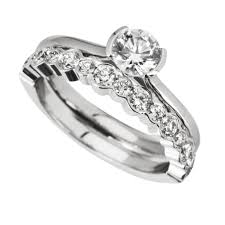 engagement ring and wedding band set wedding awesome engagement rings and wedding band sets images of