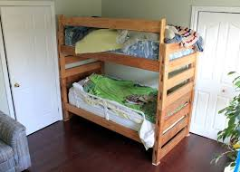 Instructions For Building Bunk Beds by Easy Modular Pine Bunkbeds 9 Steps With Pictures